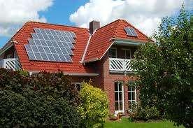 Szép napelemes ház