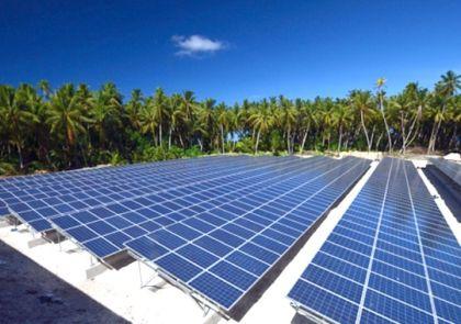 Áramellátás napelemmel = Tokelau