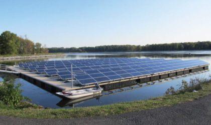 Úszó napelem farm