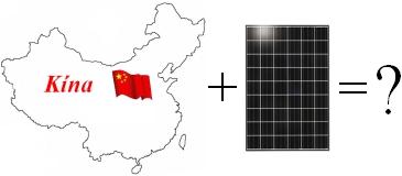 Kína és a napelem védővám