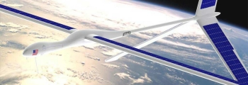 Solara - napelemes drón
