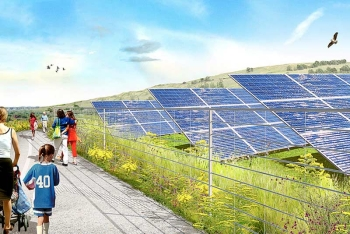 New York, Freshkills Parks napelem erőmű