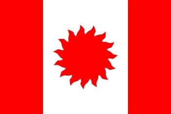 Kanadai napenergia zászló