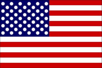 USA napenergia zászló