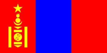 Mongol zászló