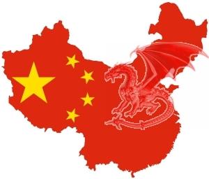Kína és sárkány