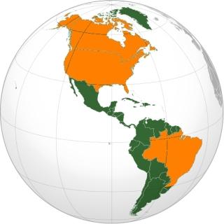 Amerika napelem országai