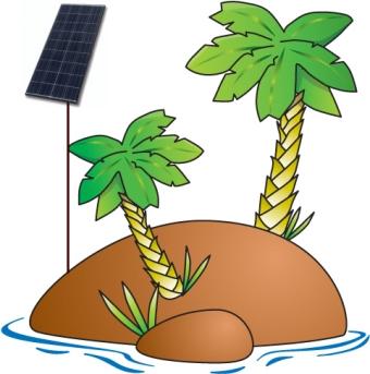 Szigetüzemű napelem rendszer
