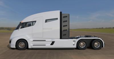 Nikola One, az akkumulátoros kamion