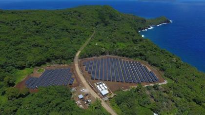Napelemes sziget: Amerikai Szamoa