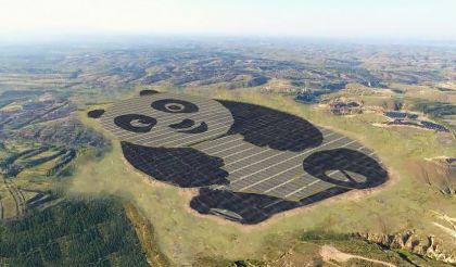 Panda napelem park