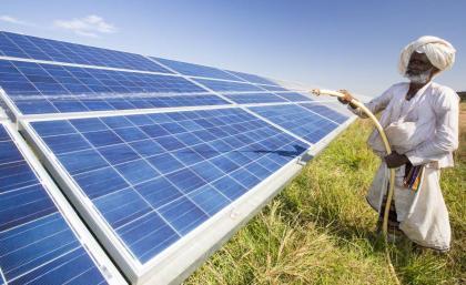 megújuló energia India