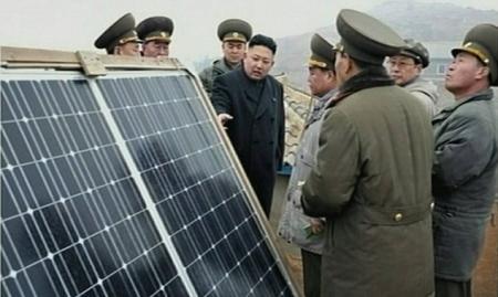 Észak-Korea Napelem